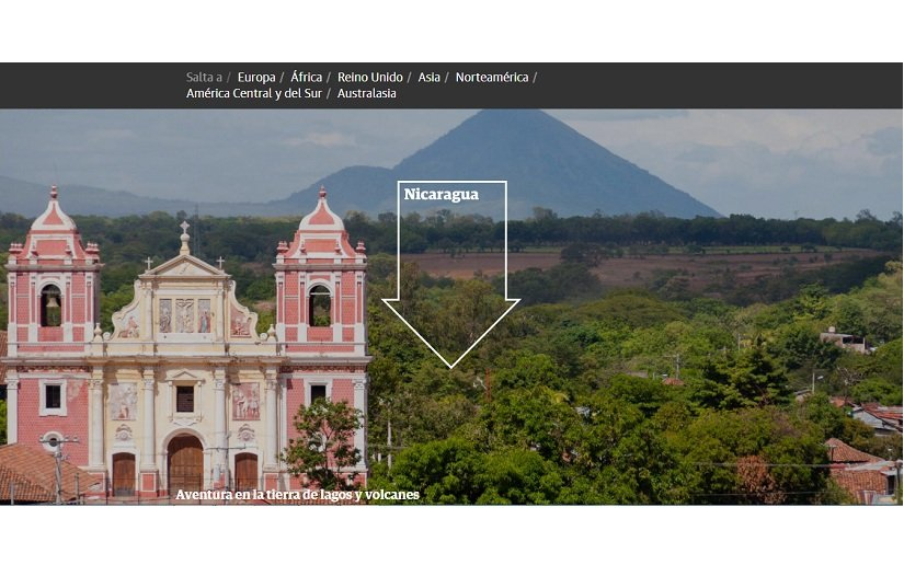 The Guardian incluye a Nicaragua entre sus recomendaciones de destinos turísticos