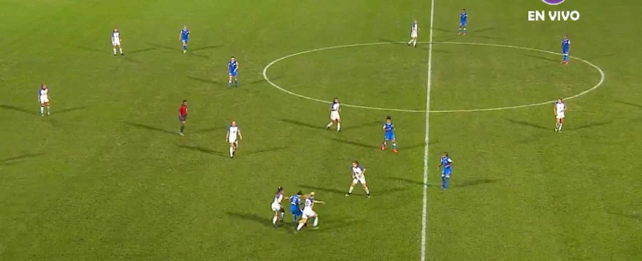 Selección Nacional  femenina de fútbol Sub-20 hace buen trabajo contra Estados Unidos