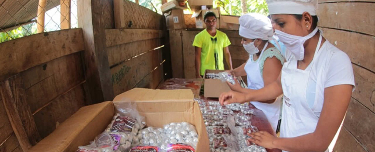 Siuna se destaca en la elaboración de chocolates