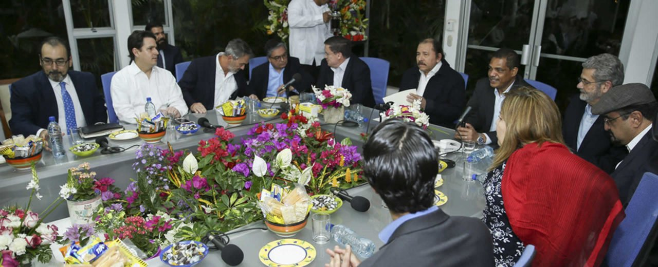 Presidente Daniel se reúne con directores del Banco Interamericano de Desarrollo
