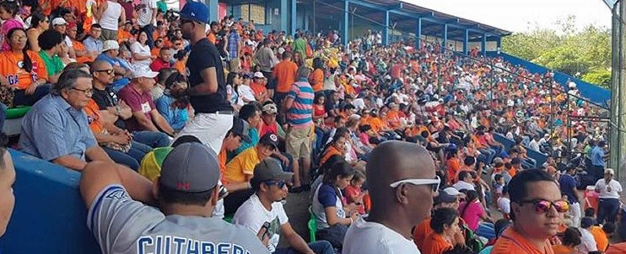 Barras de Tigres y Gigantes animaron graderias de Yamil Rios