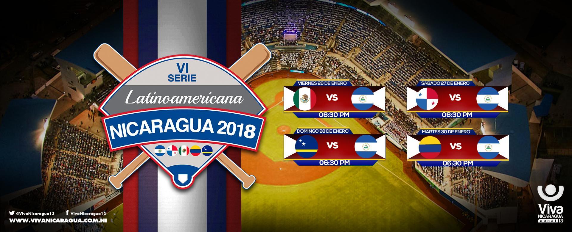 VI Serie Latinoamericana Nicaragua 2018