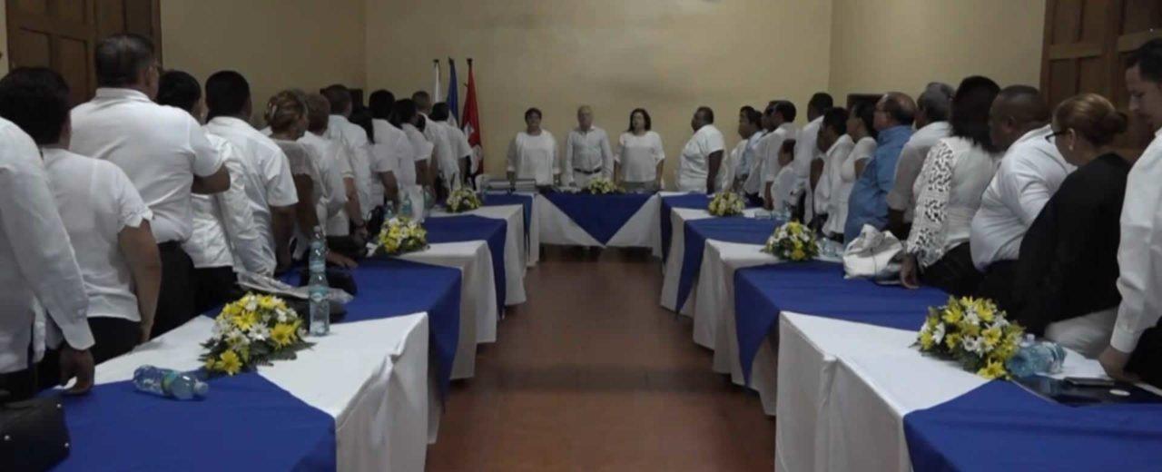 Municipio de León celebran acto de toma de posesión