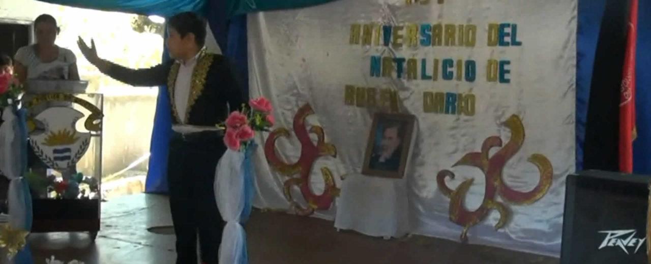 San Rafael del Sur celebra el natalicio de Rubén Darío