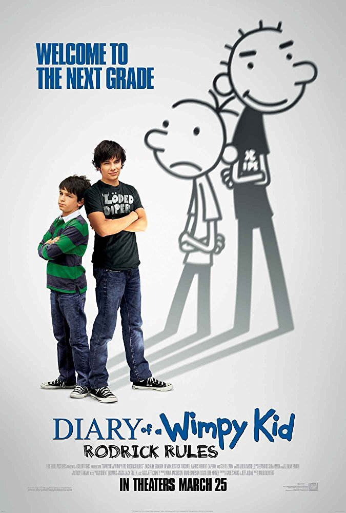 Cine del 13 - Diary of a Wimpy Kid: Rodrick Rules