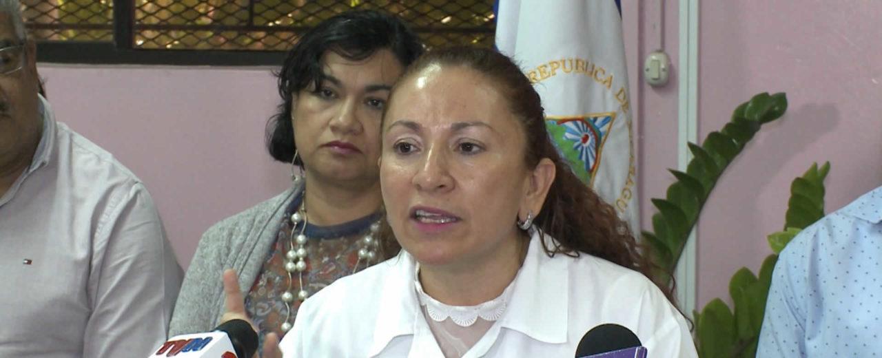 Ministra de Salud hace un llamado a la no violencia