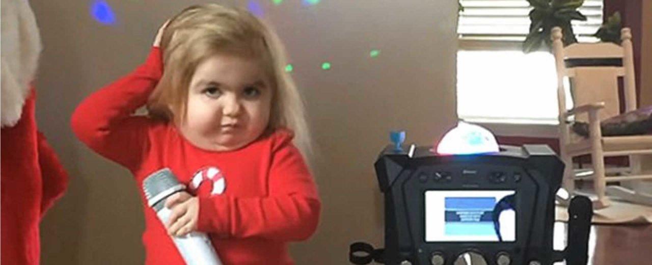 Audrey Nethery, la niña mas tierna de las redes sociales