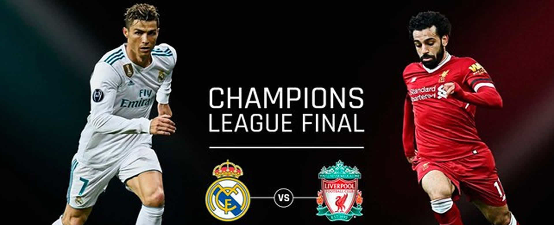 Llegó la hora acá la alineación Real Madrid vs Liverpool