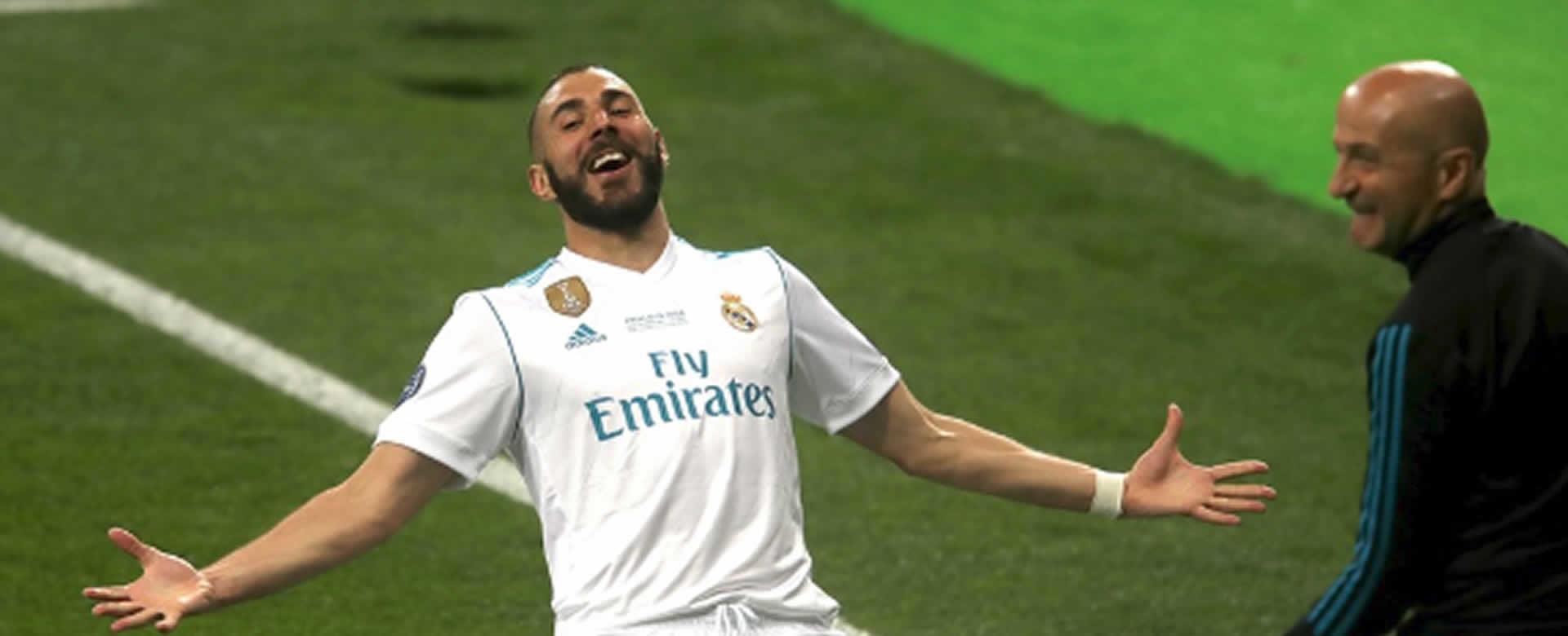 Real Madrid gana su decimotercera orejona de la Liga de Campeones en Kiev