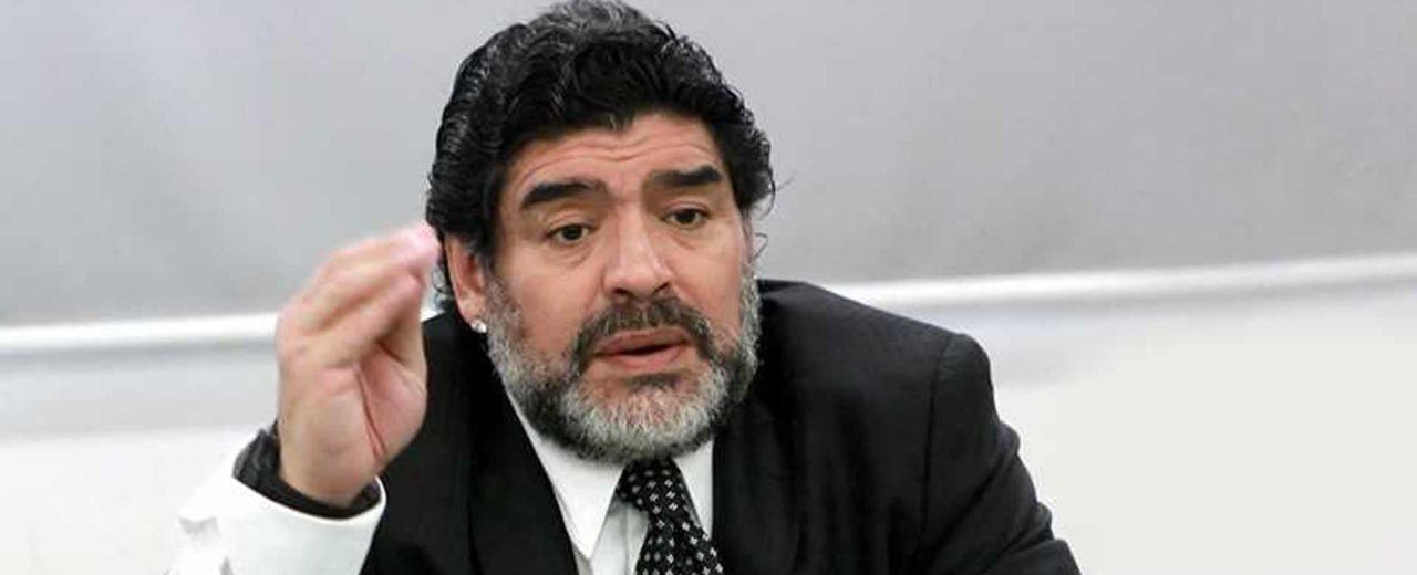 Diego Armando Maradona se solidariza con Nicaragua