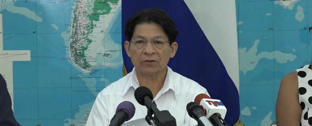 Gobierno de Nicaragua da a conocer Nota de Prensa ante la ola de violencia en el país
