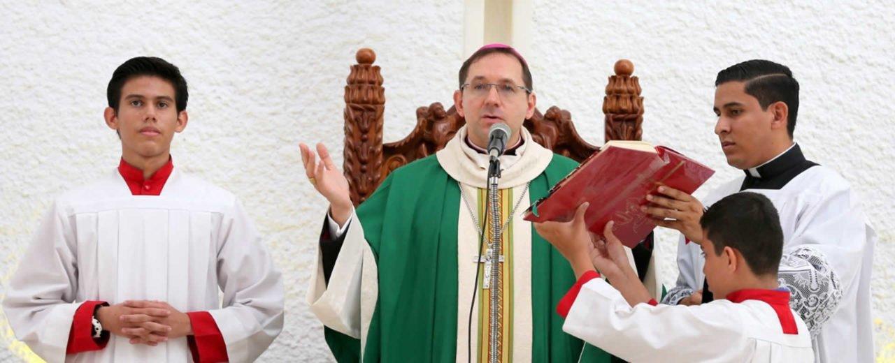 Nuncio Waldemar ora por la Paz y la Reconciliación en Nicaragua