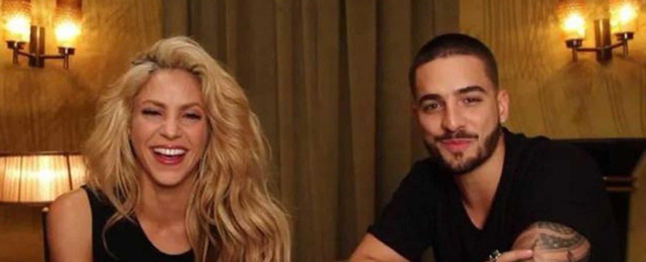 """""""Clandestino"""" de Shakira y  Maluma superó a """"Despacito"""" según la organización de Billboard"""