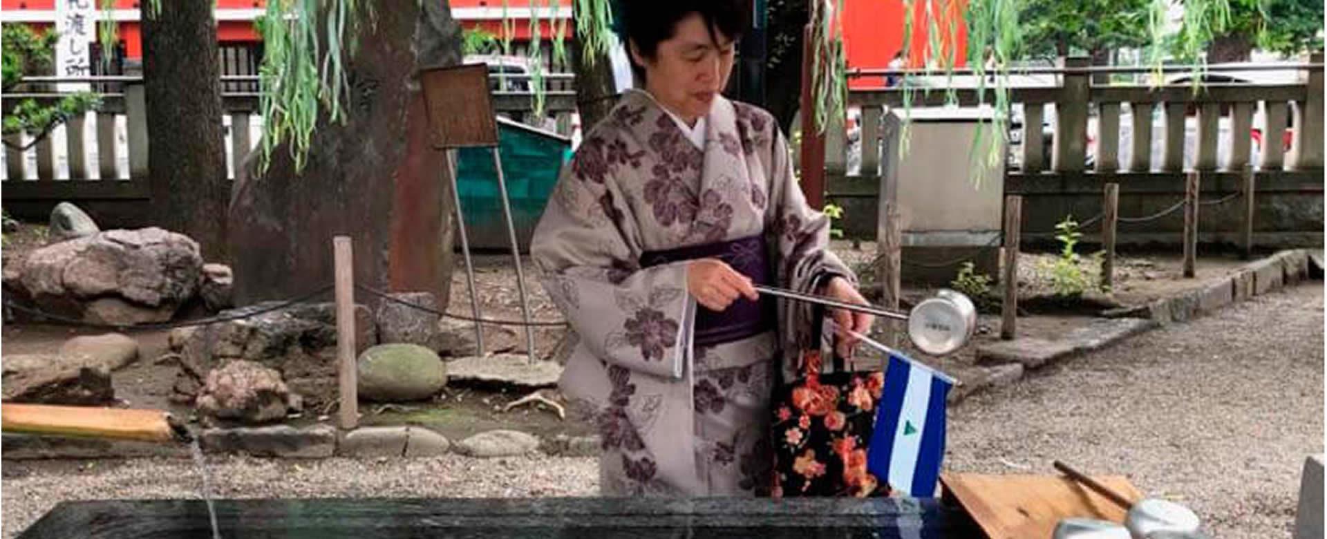 Desarrollan en Japón ceremonia de petición por la paz de Nicaragua