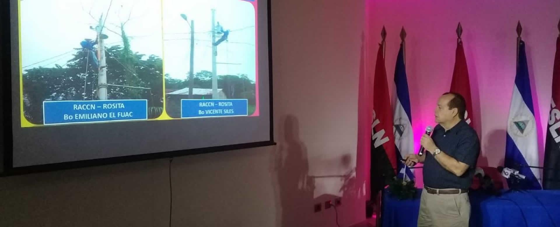 ENATREL con más obras de electrificación para Nicaragua