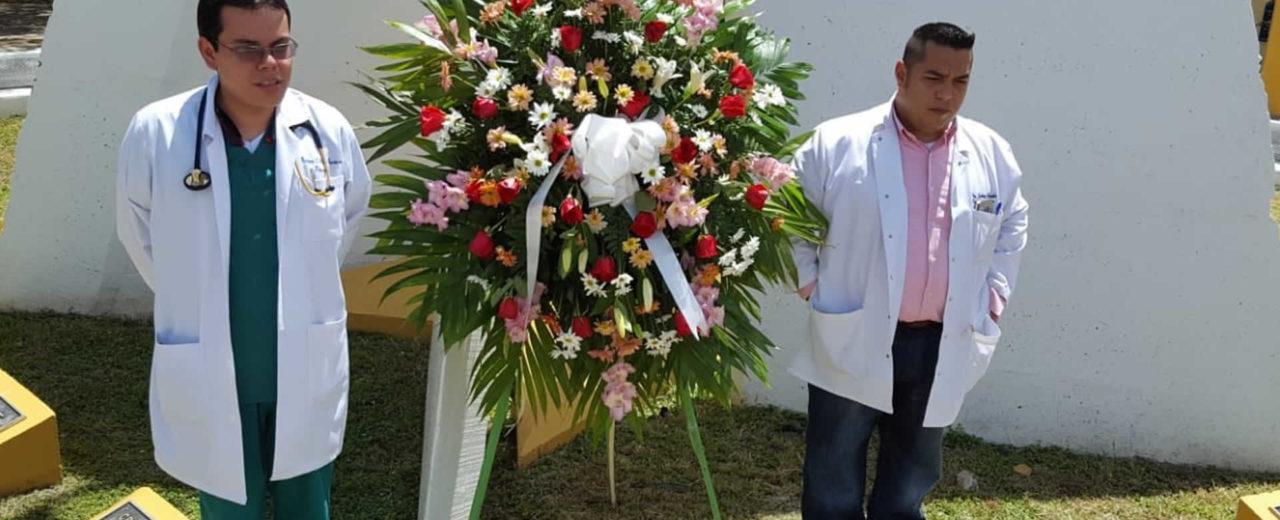 Hospital Escuela de León rinde homenaje al doctor revolucionario, Óscar Danilo Rosales Argüello
