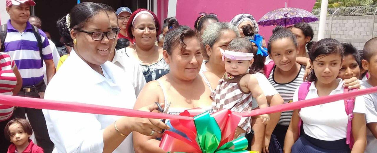 Inauguran mejoras en Puesto de Salud del Barrio 19 de Julio en Bluefields