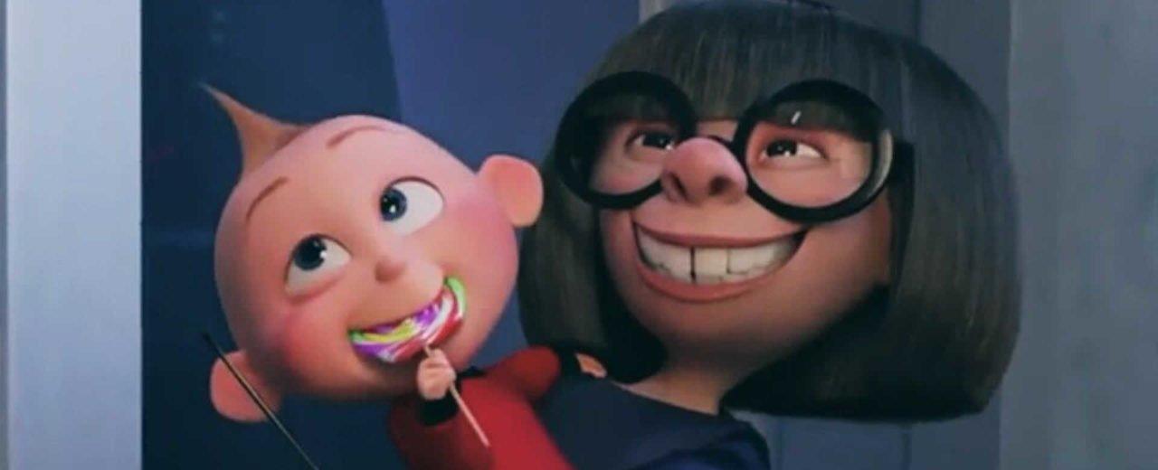"""Pixar podría lanzar un corto sobre la noche de Edna Moda y Jack Jack en """"Los Increíbles 2"""""""