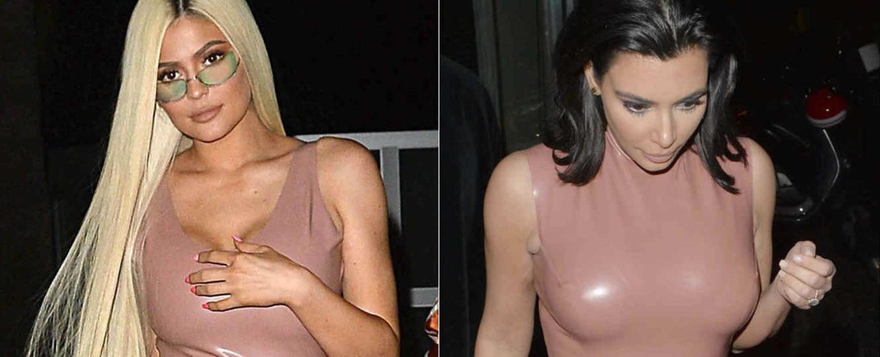 Kylie Jenner copia a  Kim Kardashian