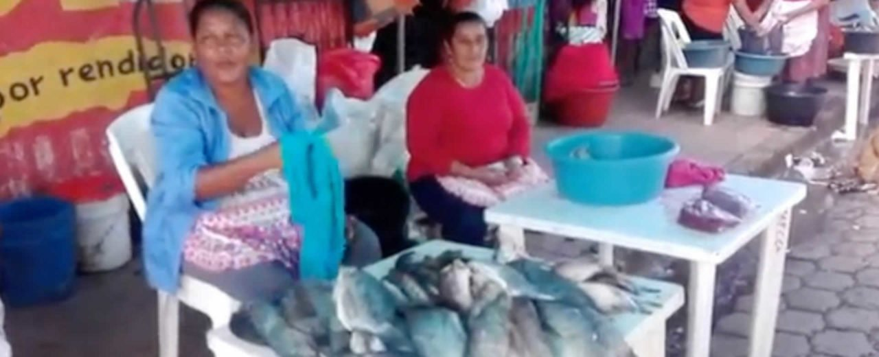 Despierta comercio de mariscos en Juigalpa