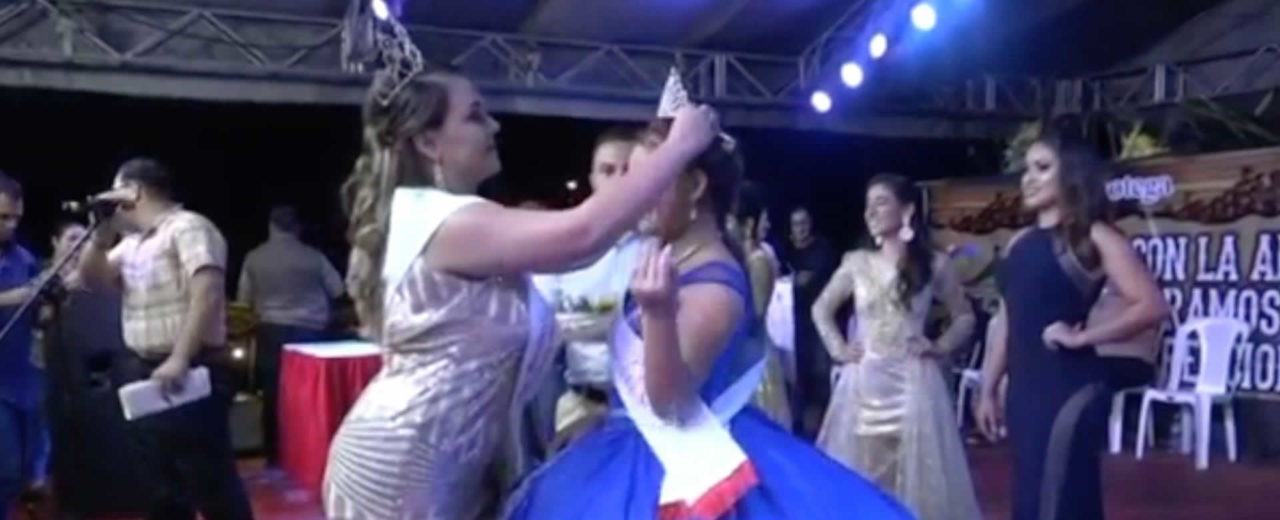 Jinotega corona como reina a Jaqueline Rivera durante el 127 aniversario de la ciudad
