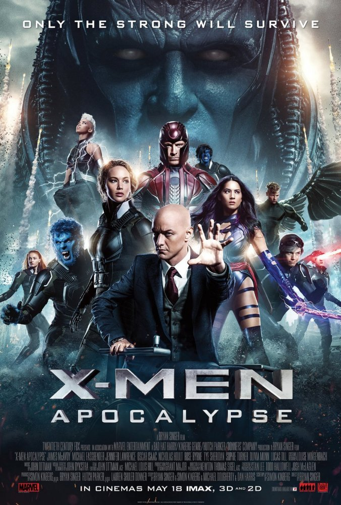 Domingos Estelares - X-Men: Apocalypse