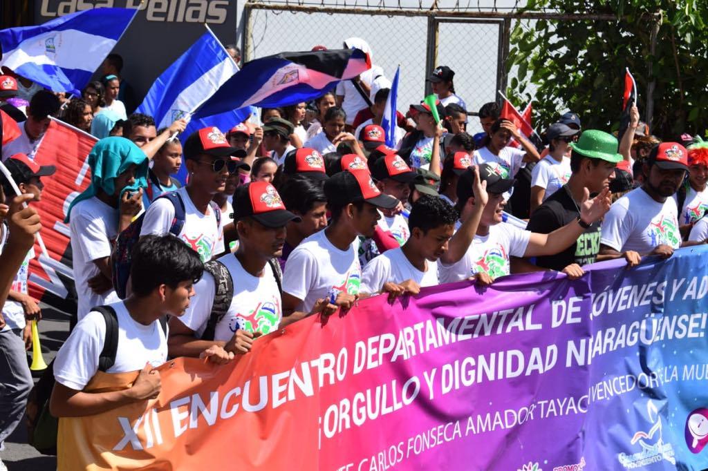 Juventud Sandinista realiza encuentro Departamental de Jóvenes y Adolescentes