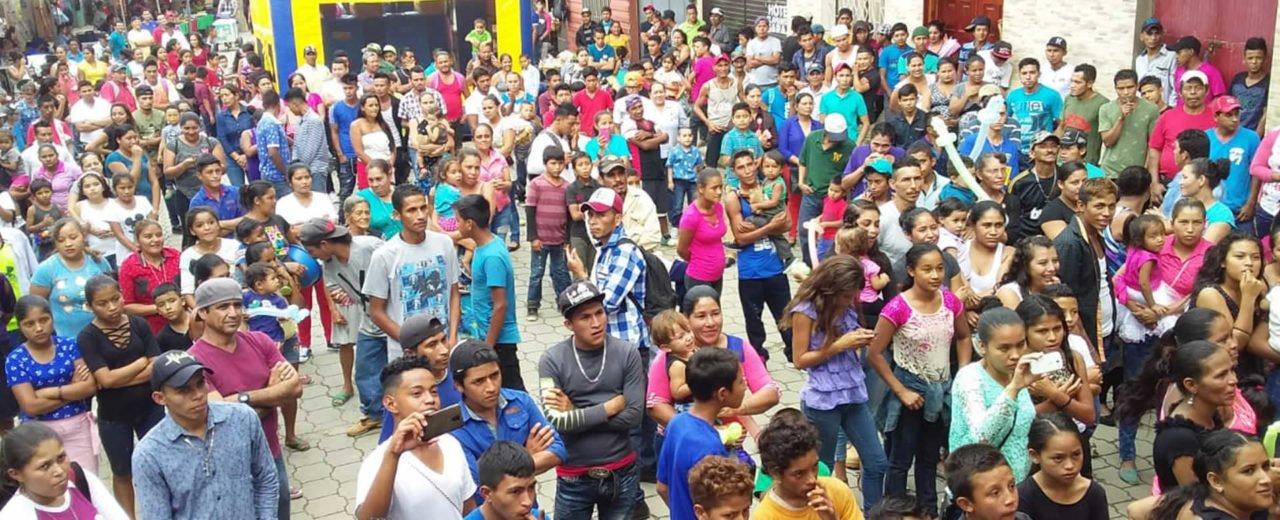Enorme Feria Gastronómica realizaron las familias de San Juan de Río Coco