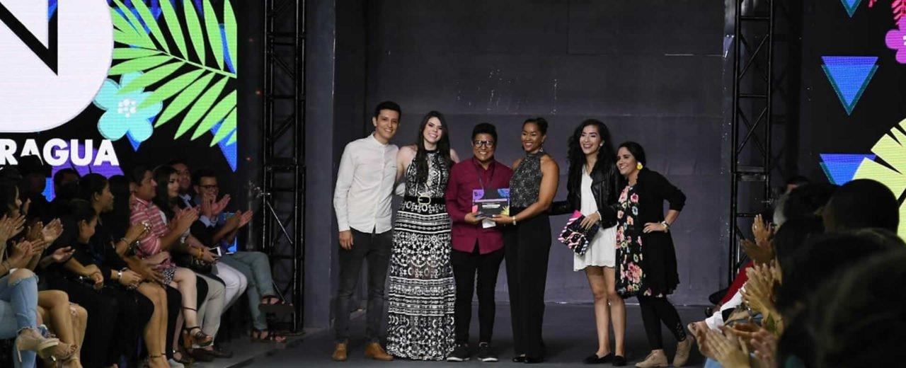 Premiaciones de Nicaragua Diseña 2018