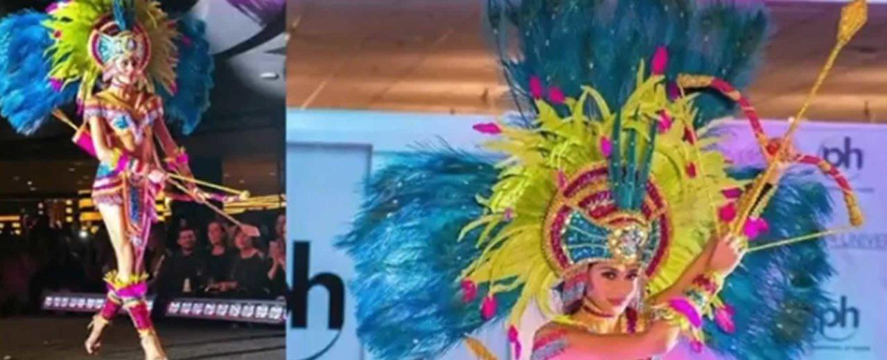 Diseñador nicaragüense exige a organización hondureña le regrese su traje