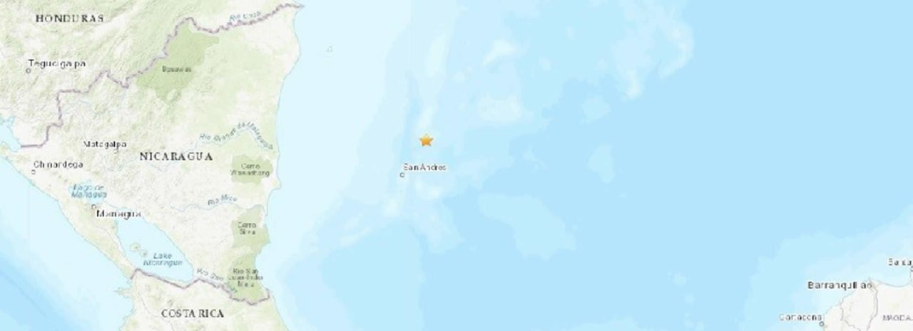 Tres sismos en menos de 24 horas sacuden la isla San Andrés