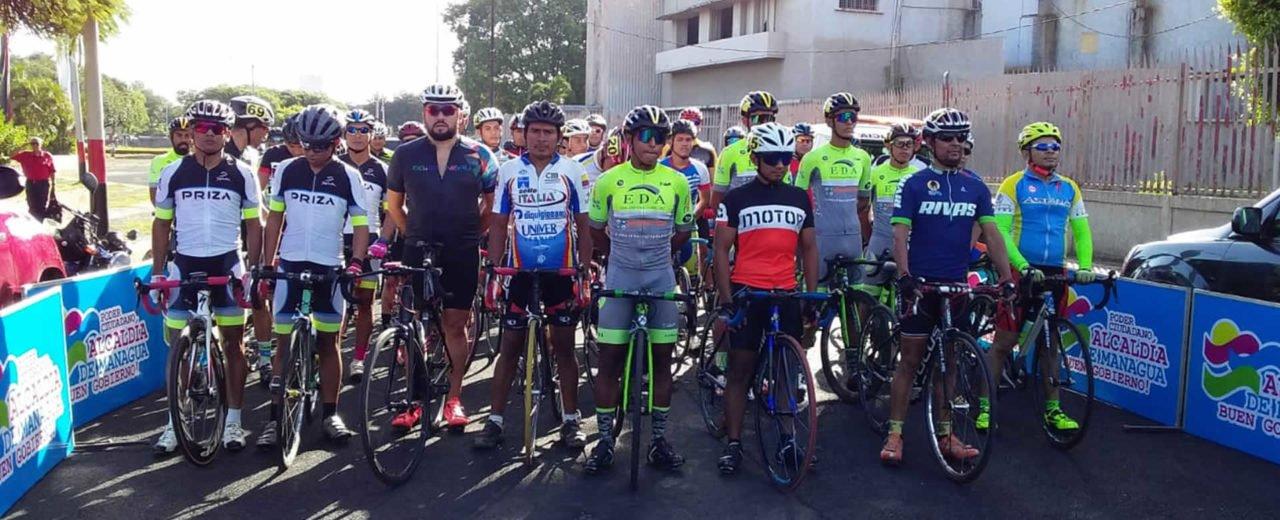 Una mañana de adrenalina se vivió con el Campeonato Nacional de Ruta Ciclística