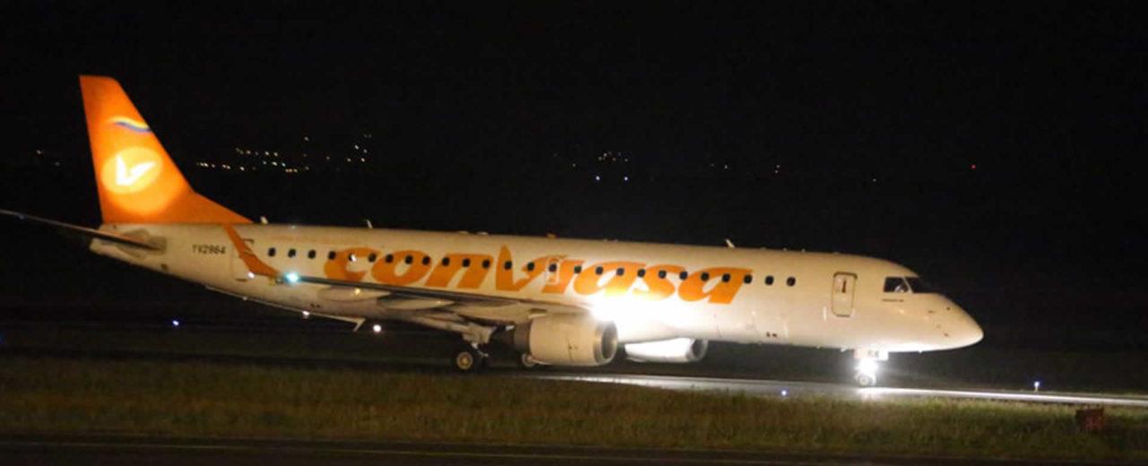 Habana-Managua es la nueva ruta de la aerolínea Conviasa