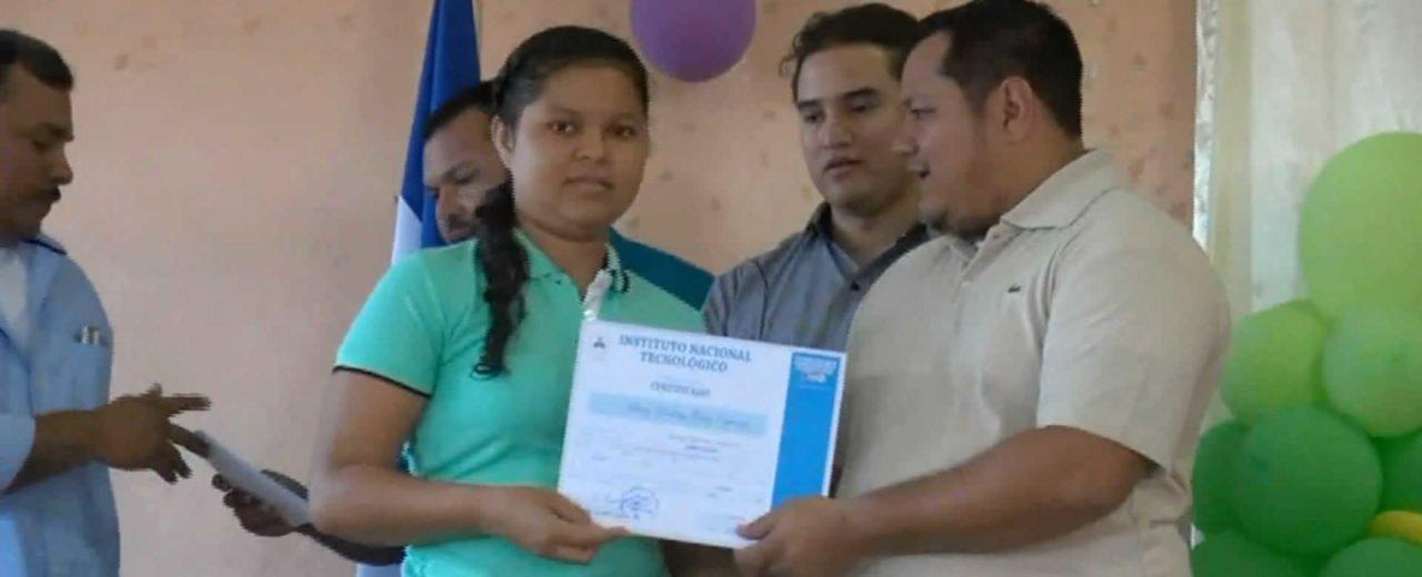 San Rafael del Sur: Nuevos protagonistas listos para enfrentarse al mercado laboral