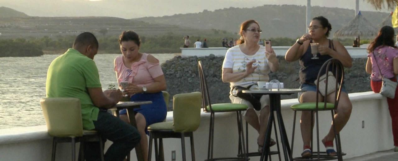 Familias disfrutaron este fin de semana de los atractivos del Puerto Salvador Allende