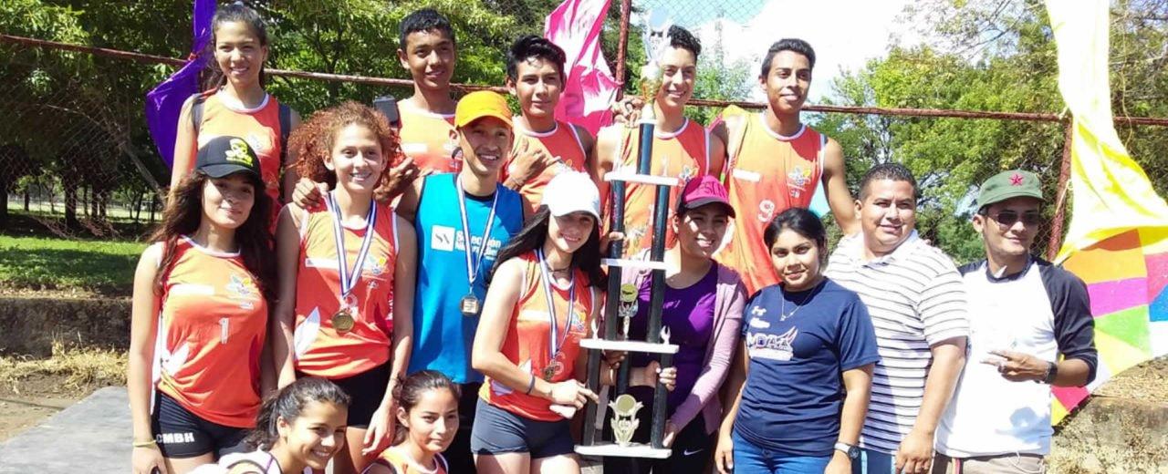 Matagalpa se llevó el premio en la Competencia Nacional de Atletismo realizados en León