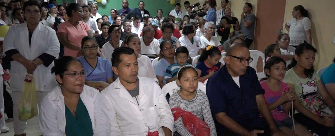 Personal médico del Hospital La Mascota celebró la Gritería en honor a la Inmaculada Concepción