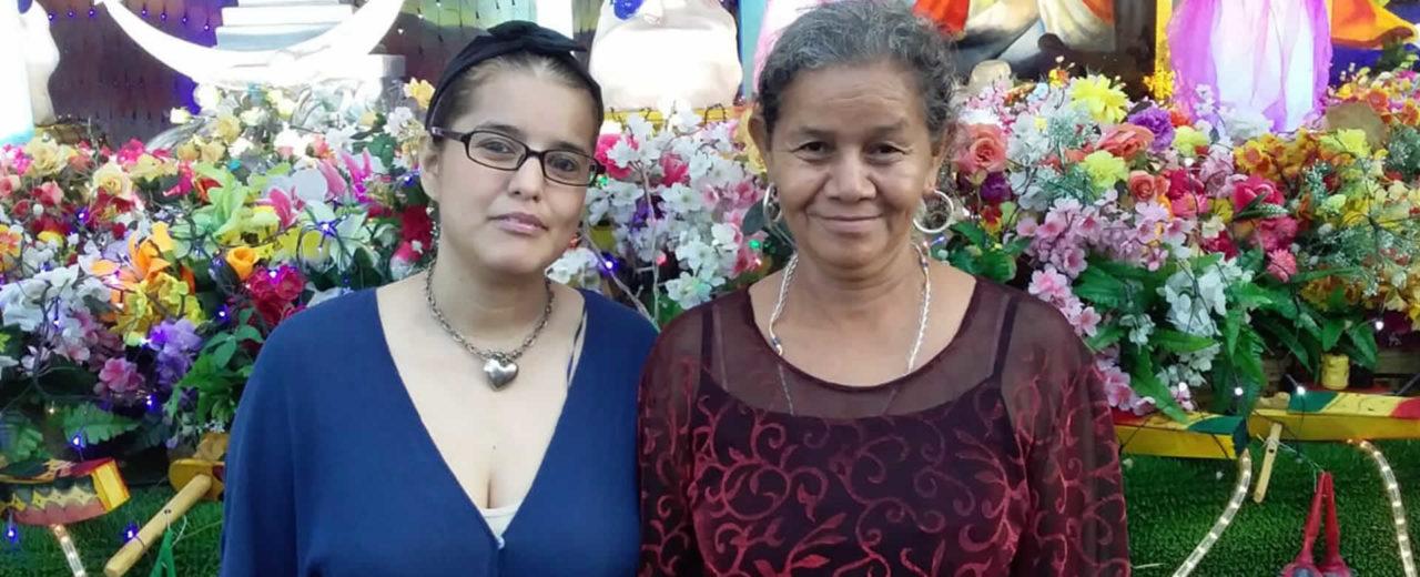 Capitalinos visitan la Avenida de Bolívar para celebrar el día de la Inmaculada Concepción de María