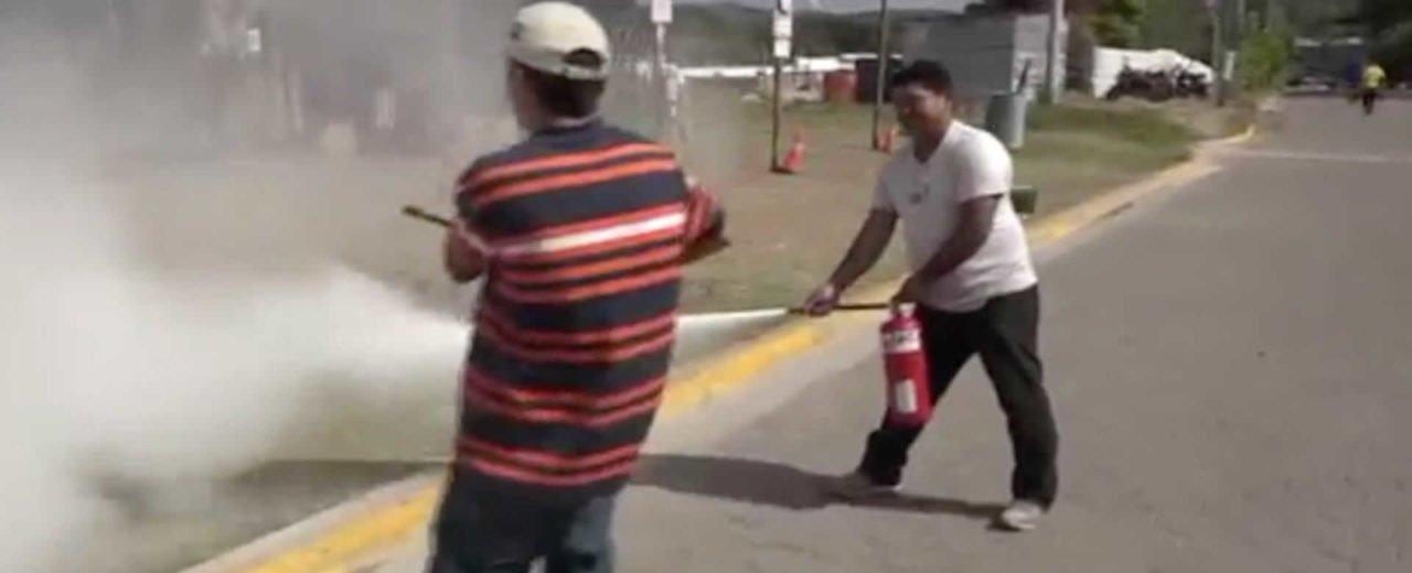 """Comerciantes de pólvora en Estelí se suman al """"Ejercicio Nacional de Protección y Salvaguarda de la Vida"""""""