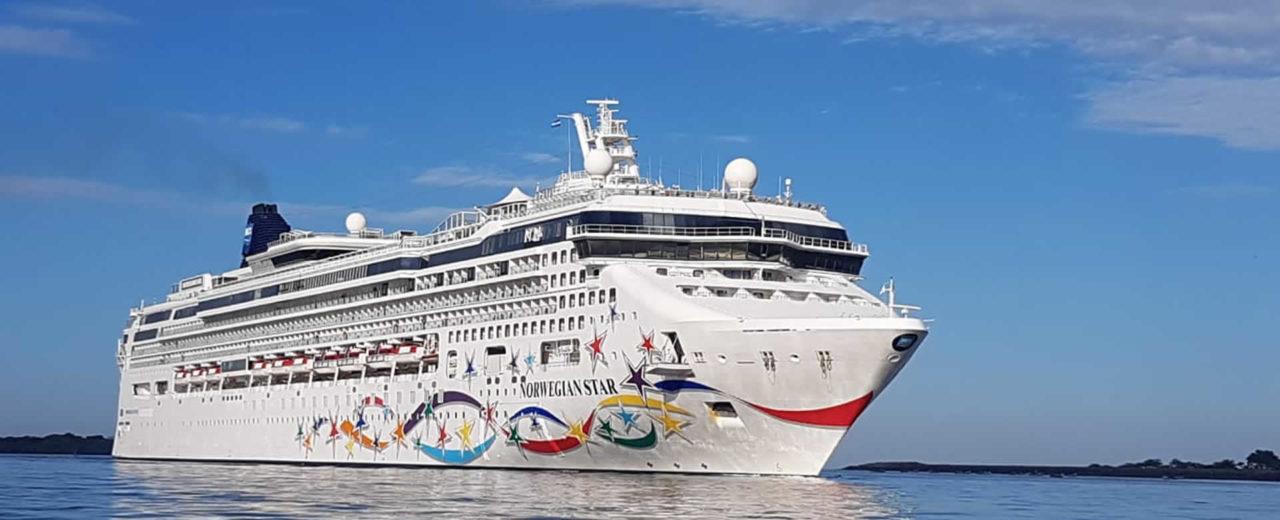 Crucero Norwegian Star arriba a Puerto de Corinto