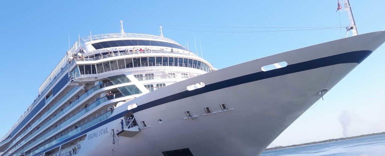 Crucero Viking Cruises arribó a Puerto de Corinto