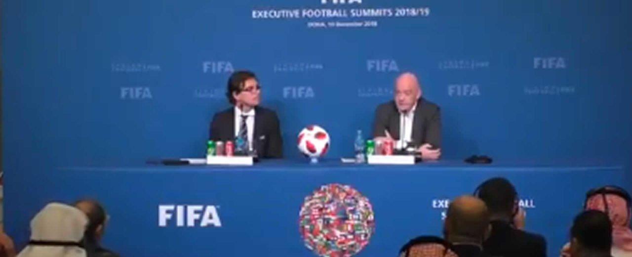 FIFA: Qatar 2022 podría albergar a 48 equipos de firmarse en Liga de Naciones Global