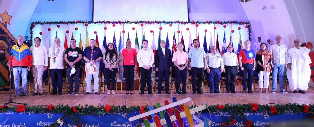 Familias capitalinas disfrutan del II Festival Gastronómico Cultural de Paz y Buena Voluntad