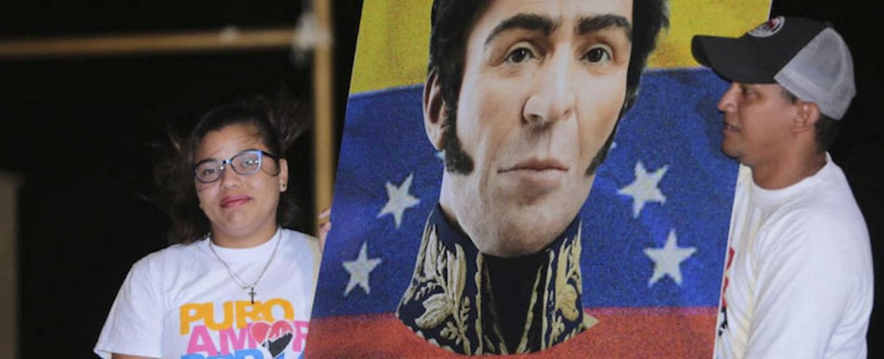 Juventud Sandinista realiza concierto en homenaje al Libertador de las Américas, Simón Bolívar