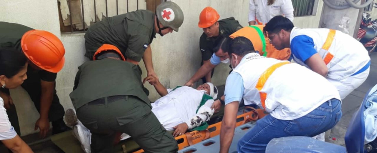Leoneses participan en el Tercer Ejercicio Nacional de Protección y Salvaguarda de la Vida