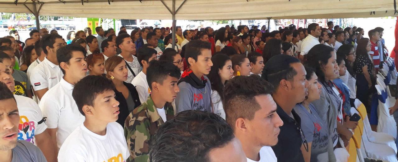 Nicaragua rindió homenaje al libertador de América, Simón Bolívar
