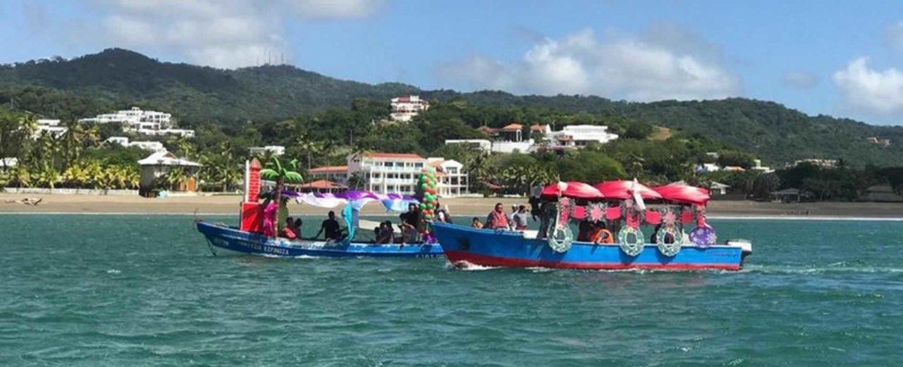 Paradisíaco San Juan del Sur se viste de colores con Carnaval Acuático Navideño