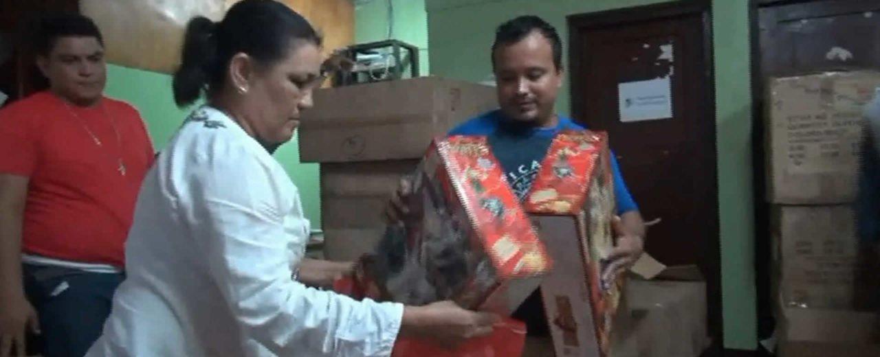 San Rafael del Sur inicia distribución de juguetes para los mimados de la revolución