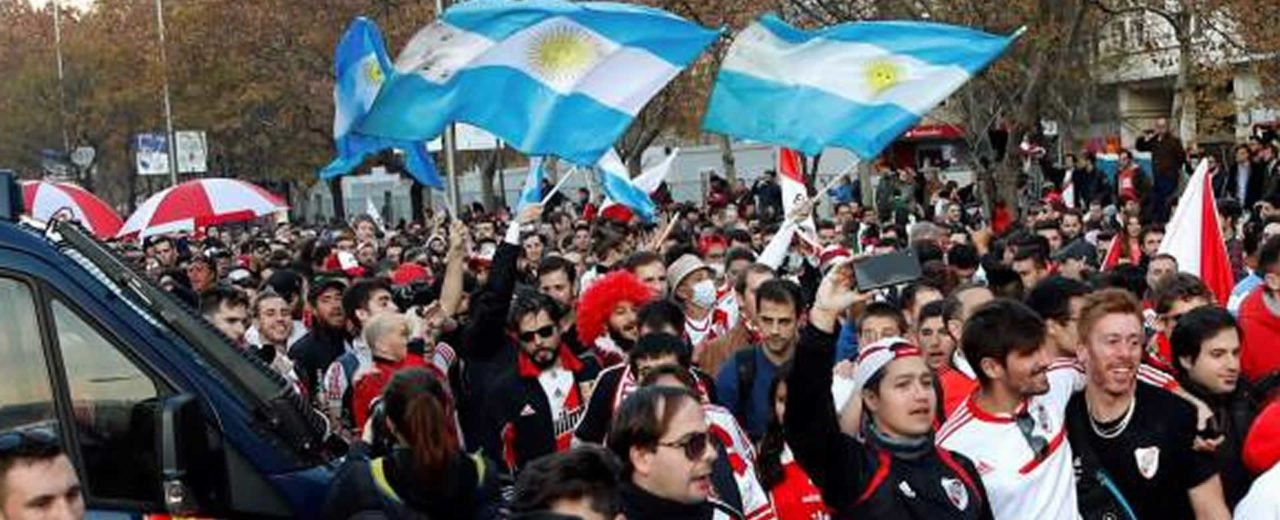 Santiago Bernabéu listo para final de Copa Libertadores entre River Plate y Boca Juniors