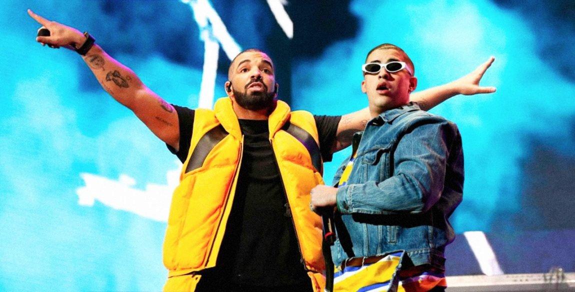 """Bad Bunny reina en categoría <strong>Latin Airplay</strong> está vez Drake junto a Drake logran destacar el tema """"MIA"""""""